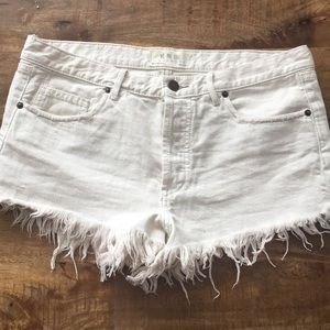 Free people jean shorts, size 29.